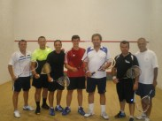 Jeremy and Rhodes Squash Club